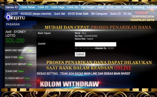 PASARAN TOGEL ONLINE WEB/SITUS RESMI